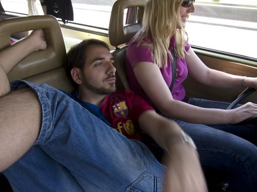 450 DE Road Trip