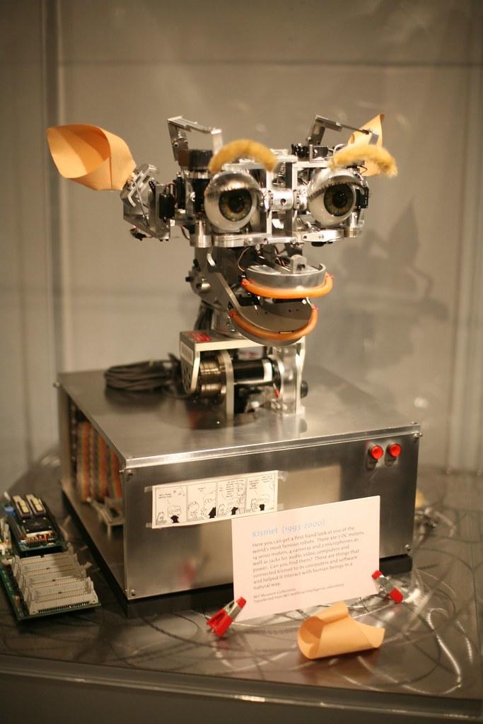 Kismet at the MIT Museum