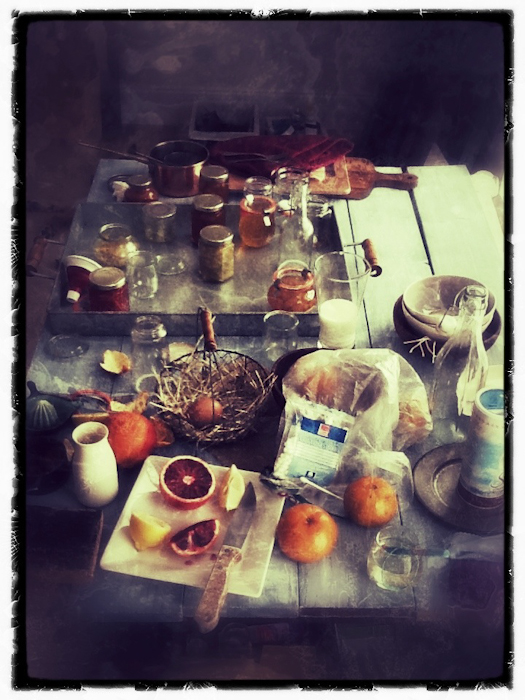 Marmalade Cookbooks Shoot
