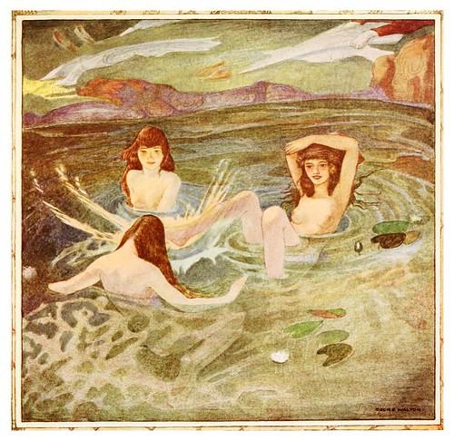 008-El principe roba las alas-Polish fairy tales 1920-Cecile Walton