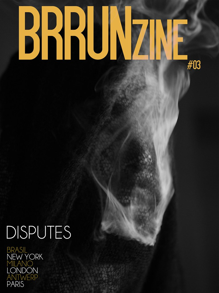 "BRRUNzine #03 — ""Disputes"" by Kevin Pineda and styling by Ilze Fula Adumane — Creative Director: Bruno Capasso — Andrea Tassalini wears Ilze Fula Adumane"