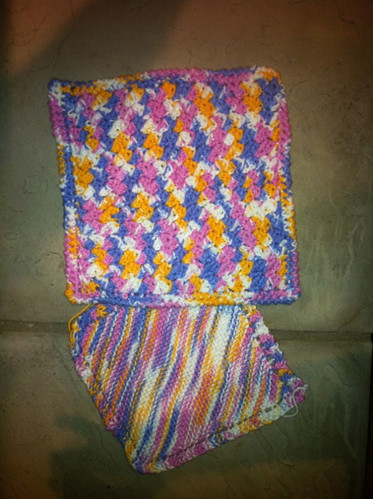 Knit and Crochet Washclothes