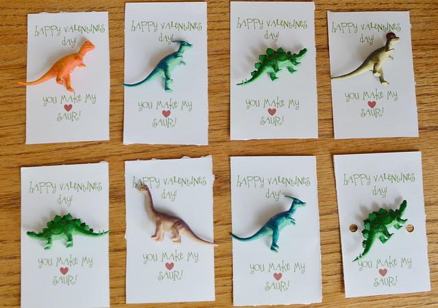 valentine dinosaurs