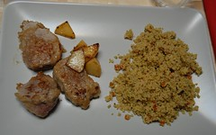 Filetto di maiale e cuscus / Pork tenderloin with cous cous