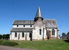 Camps-en-Amiénois (église) façade Sud 0129