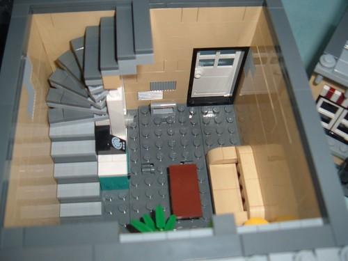 modular mod tan version of market street lego town eurobricks forums. Black Bedroom Furniture Sets. Home Design Ideas