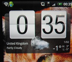 UK is partly cloudy?!