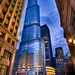 Photo Walk Blue Hour at the Trump Tower by Chris Smith/Out of Chicago