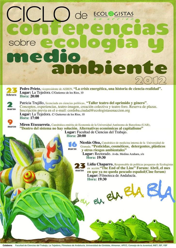 Ciclo de Conferencias Ecologistas en Acción Córdoba.