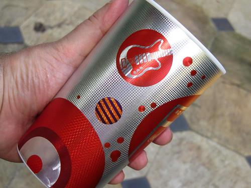 2012 silver 600 ml cups Summer-Music Coca-Cola promo Rio de Janeiro - det by roitberg