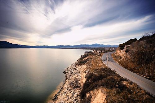 bridge lake river nikon long exposure 28 mm nikkor f28 1735mm 1735 f28d servia λίμνη kozani γέφυρα polifitos κοζάνη d700 aliakmonas ποτάμι ποταμόσ aliakmon αλιάκμονασ σέρβια υψηλή πολυφύτου σερβίων