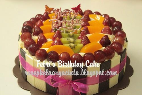 Febri Birthday Cake