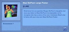 Maxi McPlum Large Poster