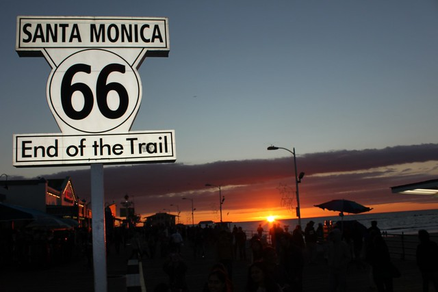 Sunset @ Santa Monica