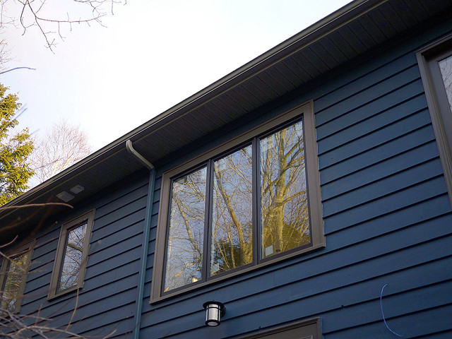 large window installed