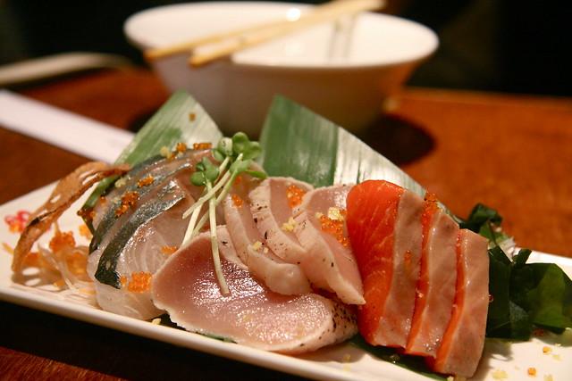 Guu w/ Garlic, Vancouver - Sashimi