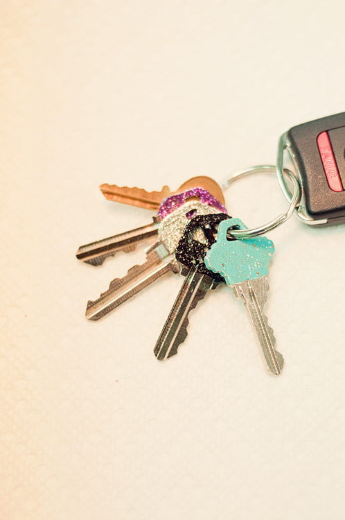 glitter keys-3