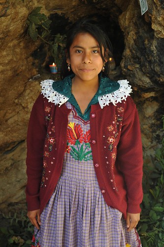 Young Woman Oaxaca Mexico