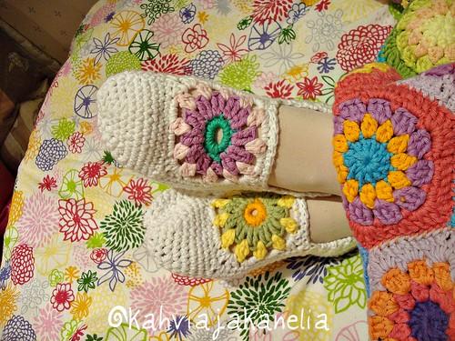 Granny Rose socks