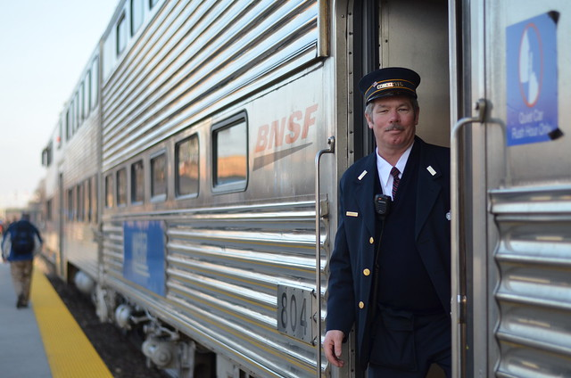 Bnsf Train Conductor Flickr Photo Sharing