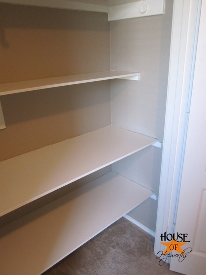 Closet Shelving Installation Home Decor