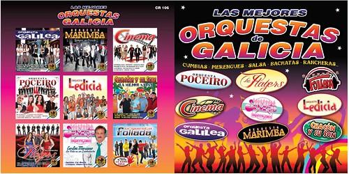 CD Orquestas de Galicia - carátula