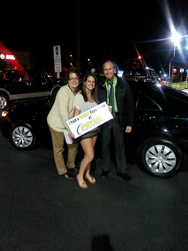 Noelle Pratt of New York, NY and her 2010 Toyota Camry from Travis Withrow and Kathy Burrage. Thank you!