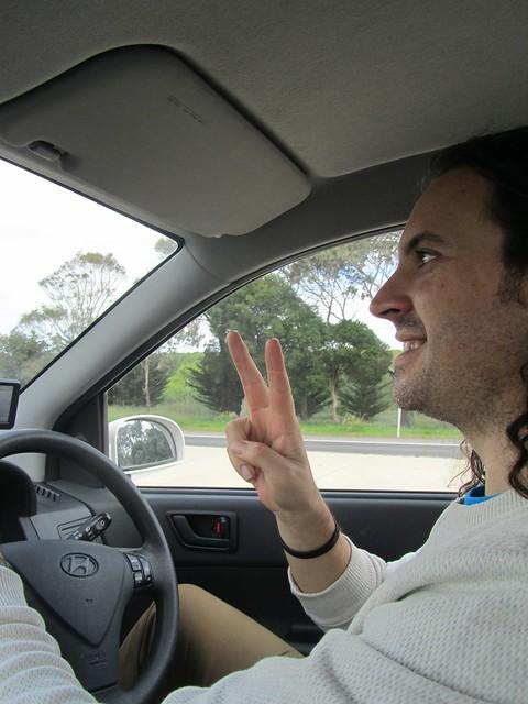 Conduciendo por la izquierda por primera vez