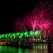 Thunder Over Louisville: Green and Pink by Tyler Bliss