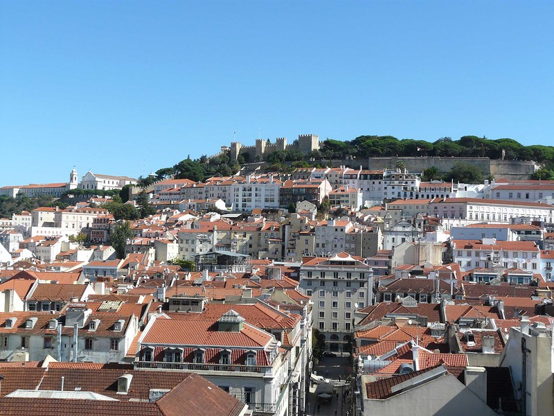 Castelo de S Jorge, Lisboa, Portugal