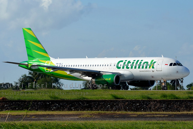 Citilink Indonesia Airbus A320-232 PK-GLJ