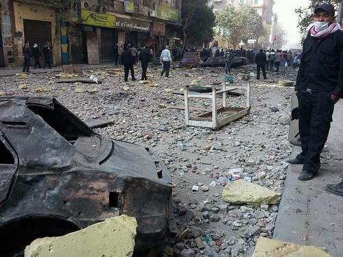 無料写真素材, 社会・環境, デモ活動・暴動, 風景  エジプト
