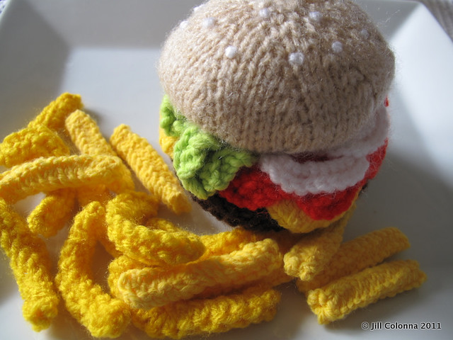 Knitted-Big-Mac-French-Fries
