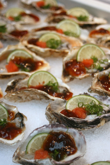Kunihiro Oysters: Raw on the half shell