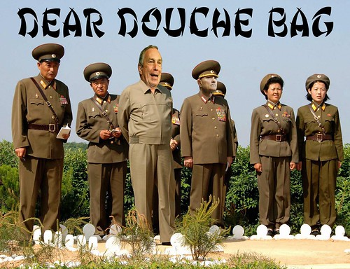 DEAR DOUCHE BAG by Colonel Flick