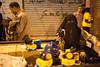 Gas Mask Vendor in Tahrir, Egypt