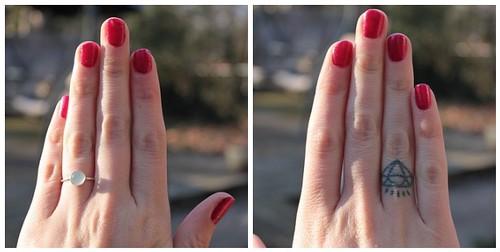 festive hands