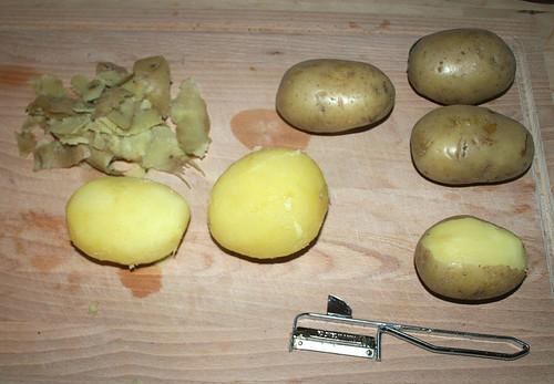 18 - Kartoffeln schälen