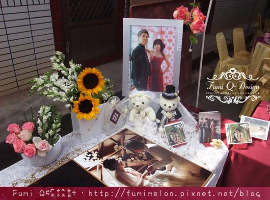 Kimi & Kelly_婚禮佈置現場