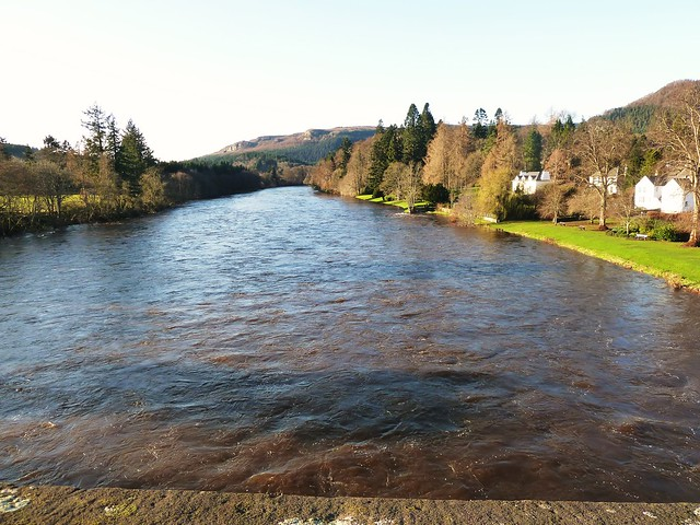 River Tay at Dunkeld, Perthshire, Scotland