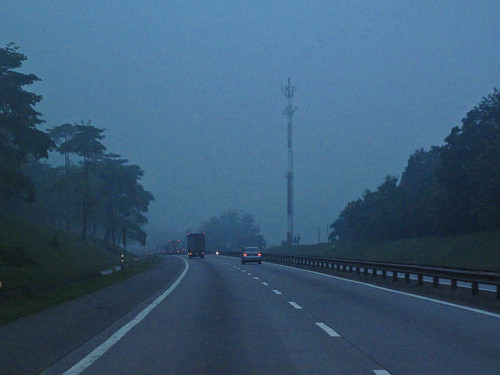 IMG_0786 Dawn - North- south highway,Malaysia