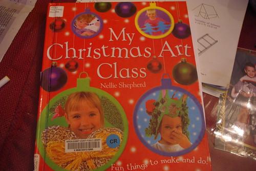 CHRISTMAS ART CLASS