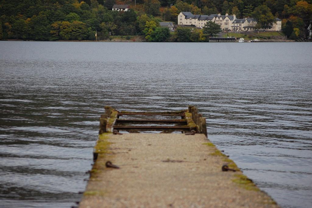 Inversnaid Hotel on Loch Lomond