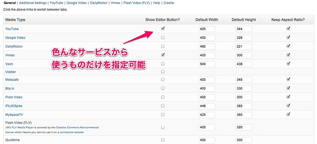 Viper_s Video Quicktags Configuration ‹ 切り抜きジャック — WordPress