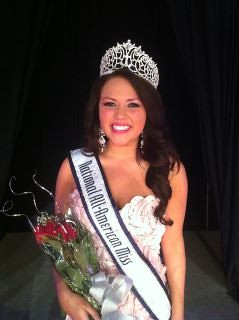 National All-American Miss Amanda Moreno of Georgia
