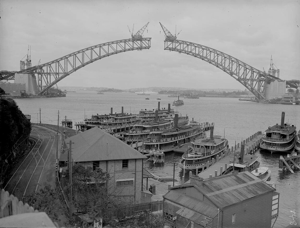 03 - Sydney Harbour Bridge Construction
