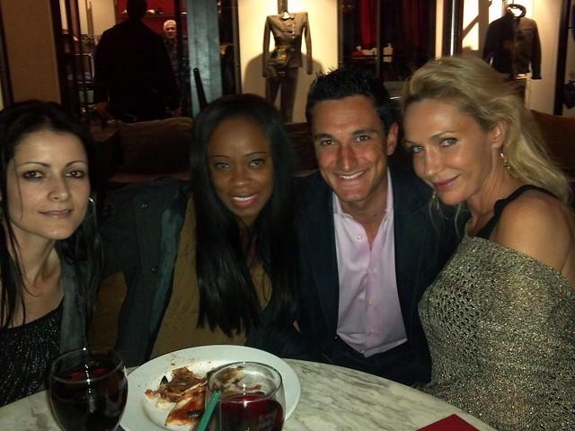 Hannane Habib, Charmaine Blake, Caffe Roma, Susie Oliver