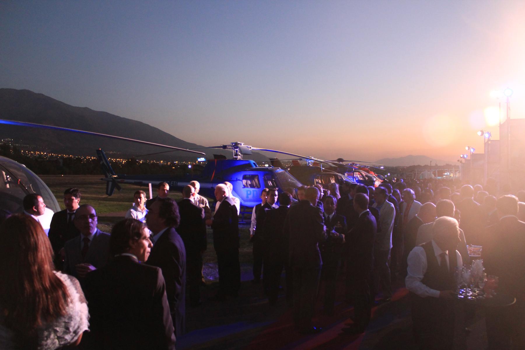 Eurocopter 10º Aniversario en Santiago de Chile