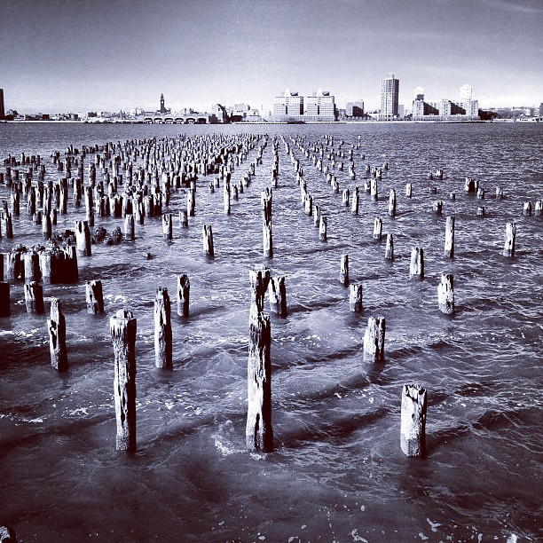 Pier on the Hudson #4