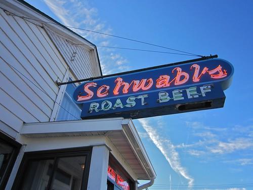 Schwabl's Neon Sign